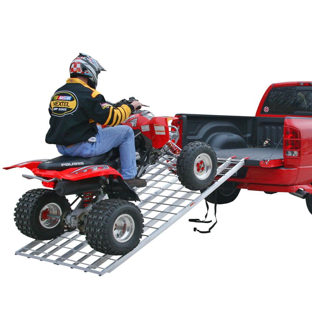 "94"" Strong Aluminum Bi-Fold ATV Loading Ramp"