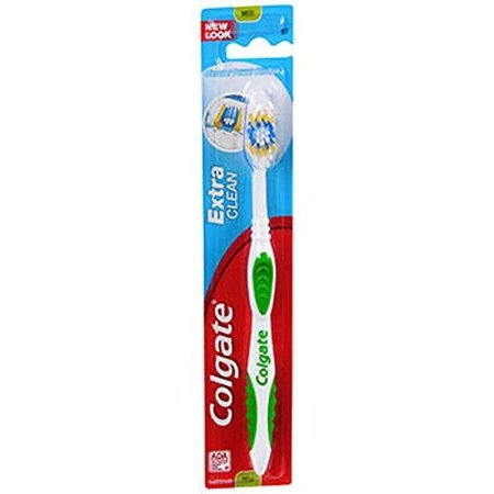 5 Pack Colgate Extra Clean Medium Toothbrush 1 Each Colors May Vary