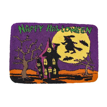 Happy Halloween Light Up Indoor Mat - Halloween Lights Happy