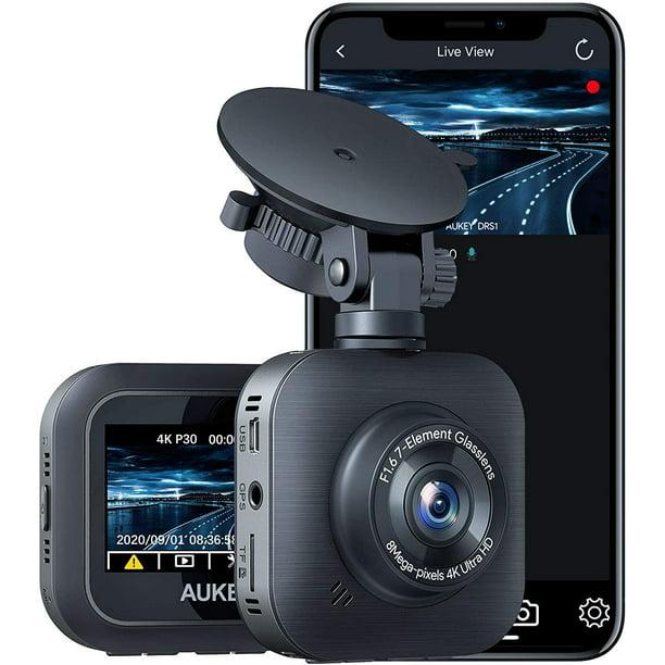 AUKEY 4K Dash Cam 3840 x 2160P WiFi Car Camera