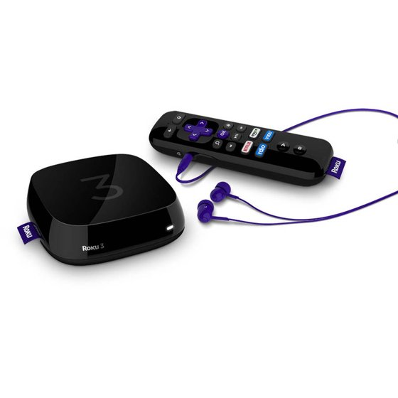 Roku 3 Streaming Media Player with Voice Search Remote - 4230RW