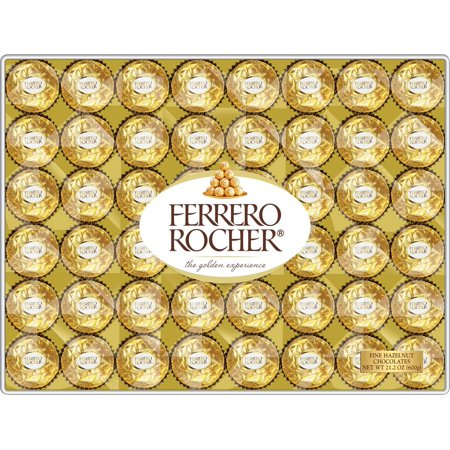 Product of Ferrero Rocher Fine Hazelnut Chocolates, 48 ct. [Biz