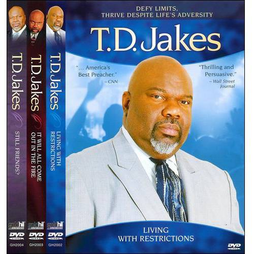 T.D. Jakes: 3 Pack Giftbox Set