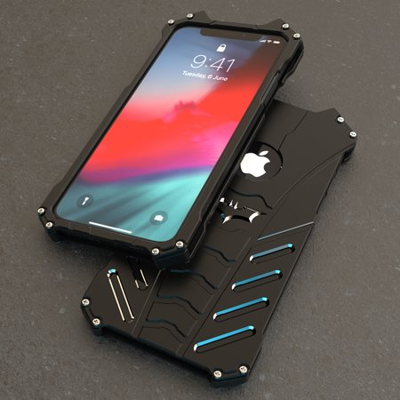 on sale 5fd82 ce7b1 Metal material Batman Design Case For iPhone Xs Max