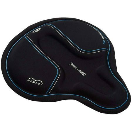 Bell Sports Coosh 750 Memory Foam Cruiser Bike Seat Pad, Black