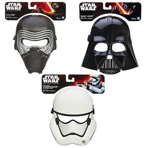 Star Wars: The Force Awakens Masks Wave 2 Case (Number of Pieces per case: 6)