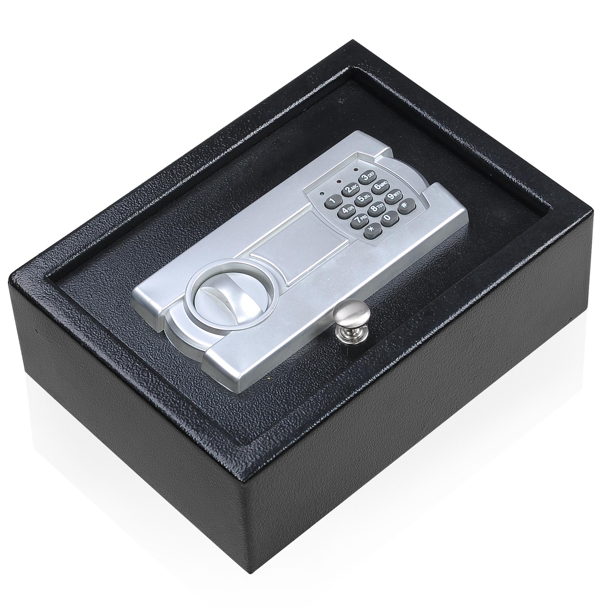 Portable 12X9 Keypad Safe Hand Gun Pistol Drawer Keyless Digital Electronic Lock Car RV Cash Box by Yescom