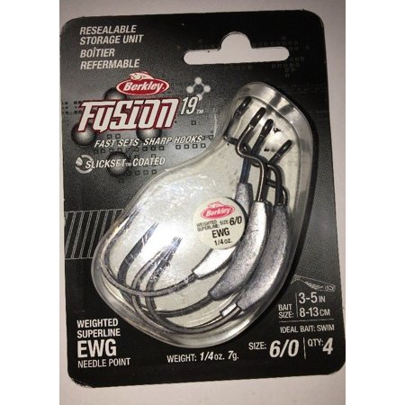 Berkley Fusion 19 6/0 Weighted Superline NeedlePoint EWG (Fishing Needlepoint)