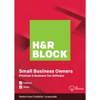H&R Block 2019 Premium & Business PC (Digital Download)