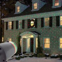 Red and/or Green Laser Light Star Display Projector with Flash Mode