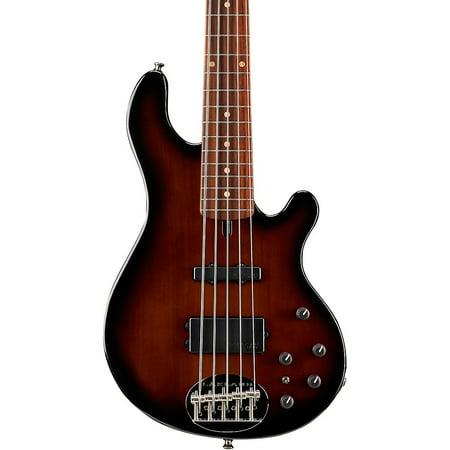 Lakland Classic 55-14 Rosewood Fretboard 5-String Electric Bass Guitar Tobacco Sunburst