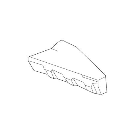 Genuine OE Nissan Rear Body Panel Insulator (Nissan Insulator)