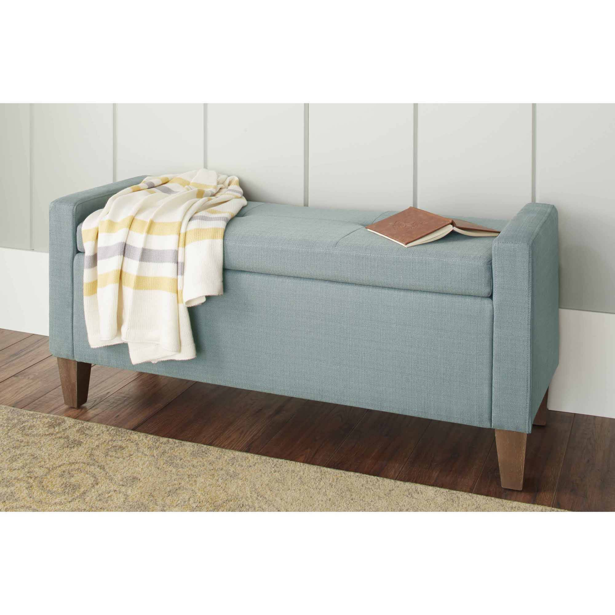 10 Spring Street Streeter Storage Bench, Multiple Colors - Walmart.com