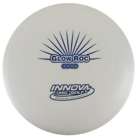 DX Glow Roc Mid-Range Golf Disc - 165-169g, Glow in the Dark DX Plastic By Innova - Glow In The Dark Golf Course