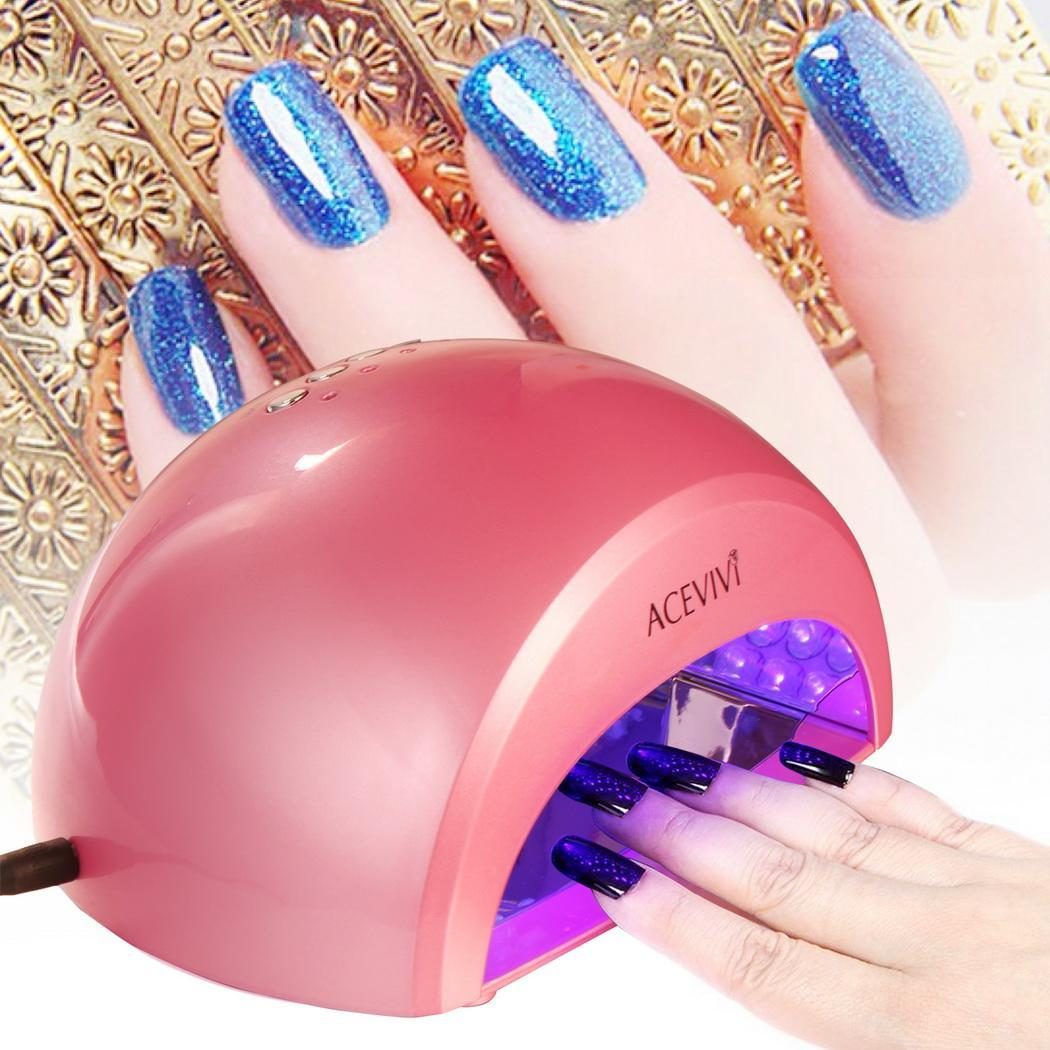 12W LED Manicure Light Lamp Curing Gel Nail Polish Dryer New Professional Nail Art  WIMA