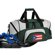 Small Puerto Rico Duffel Bag or Small Puerto Rican Flag Gym Bag