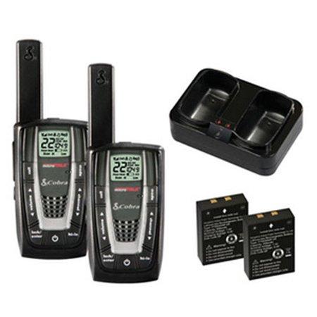 NEW! PAIR COBRA CXR725 27 Mile 22 Channel FRS/GMRS Walkie Talkie 2-Way Radios