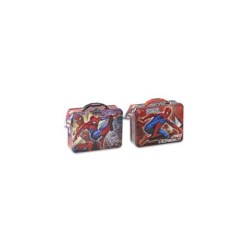 DDI Spiderman Embossed Lunch Box- Case of 12
