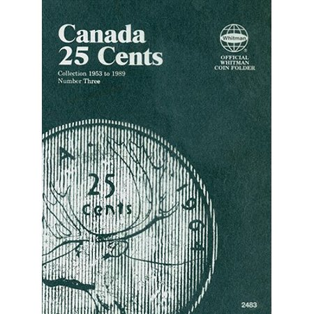 Canada 25 Cent Collection 1953 to 1989 Number Three