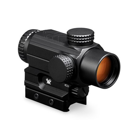Vortex Spitfire AR 1x Prism Scope with Dual Ring Tactical Reticle ‒ (Best Scope For Ar 15 100 Yards)