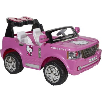 Hello Kitty SUV 12-Volt Ride-On