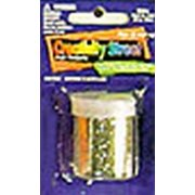 Creativity Street Glitter Silver Beads (3-Pack)