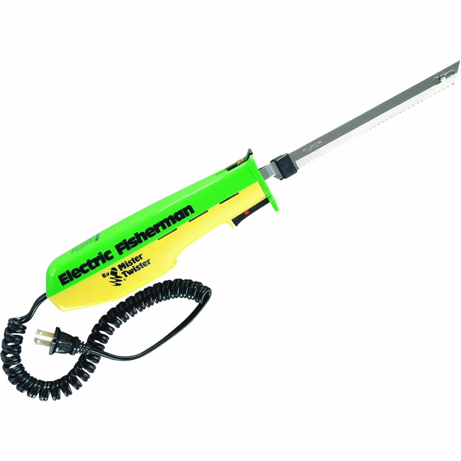 120V Electric Knife (Green Yellow), 120V GreenYellow Knife Electric By Mister Twister by