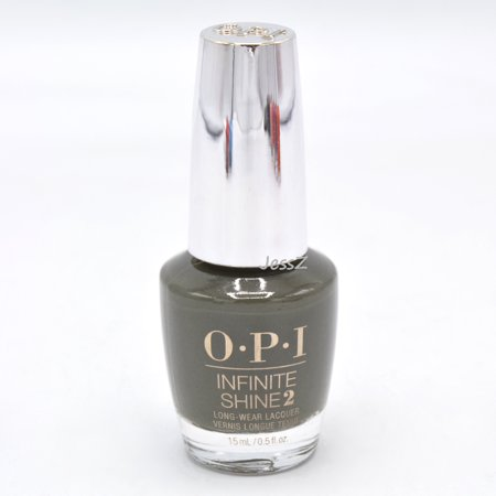 OPI Infinite Shine Fall 2019 Scotland Collection ISLU15 Things I've Seen In Aber-green 0.5