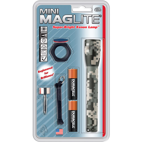 MAG Instrument AA Mini Maglite Flashlight Combo Pack