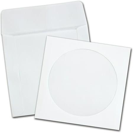 Quality Park, QUA62905, 62905 CD/DVD Envelopes, 250 / Box, White