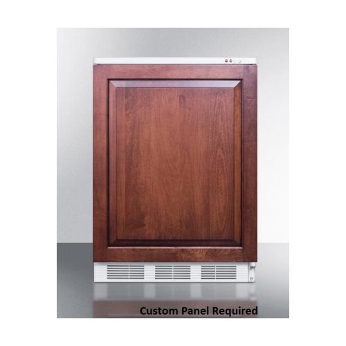 ... Freezer with 3.2 cu. ft. Capacity Three Removable Storage Baskets