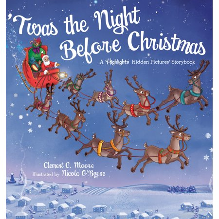 'Twas the Night Before Christmas : A Highlights Hidden Pictures® Storybook ()