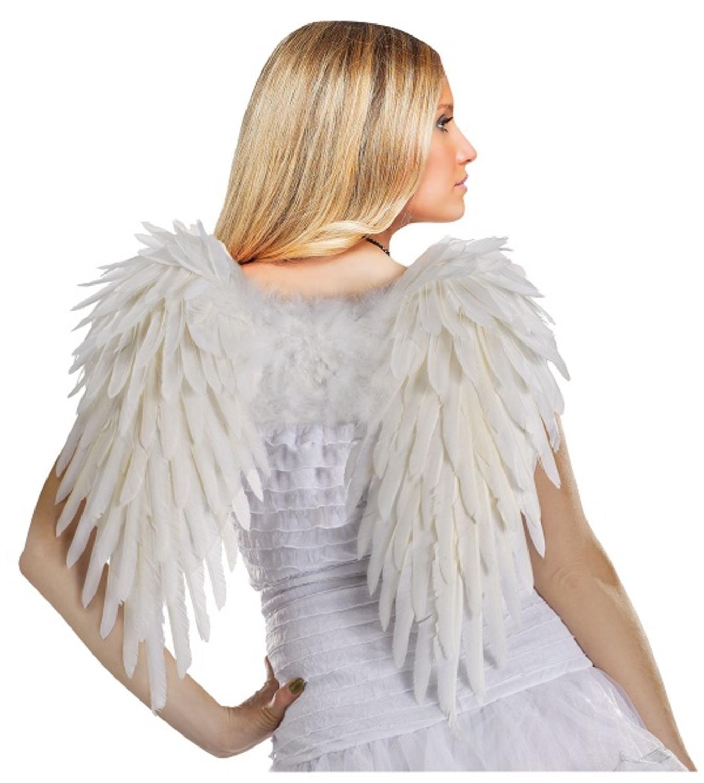 Angelic Heaven on Earth Women's Halloween Angel Wings Accessory #90440W