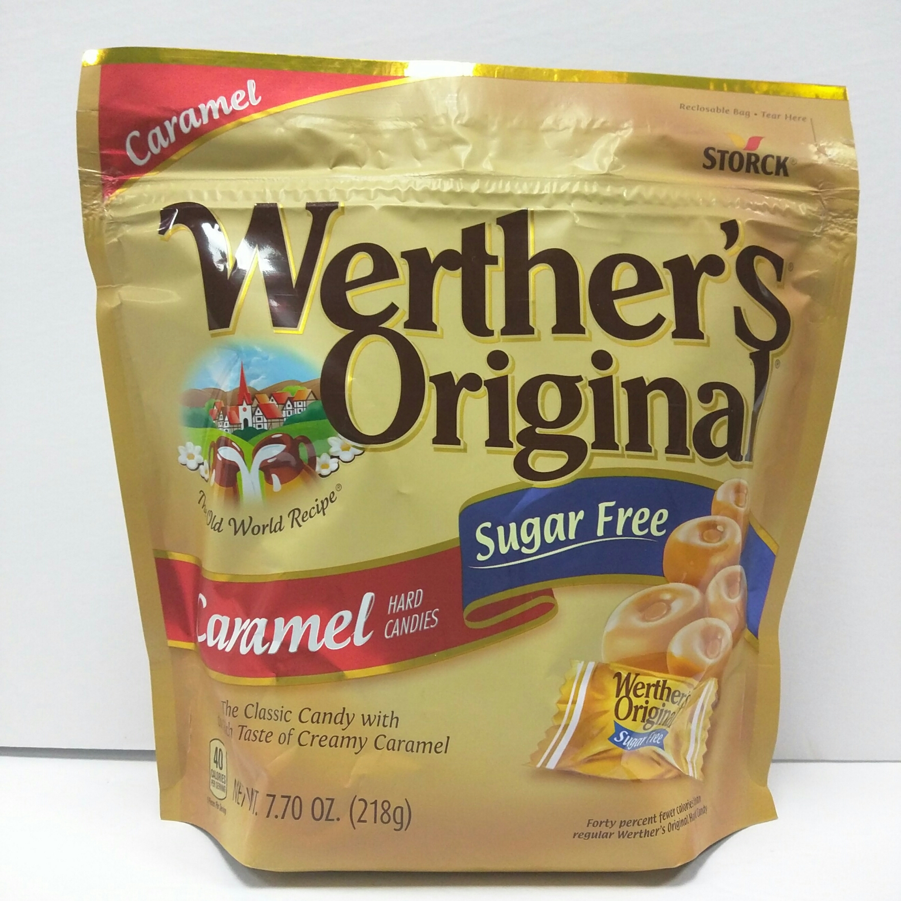 Werther's Original Sugar Free Caramels, 7.7oz by Generic