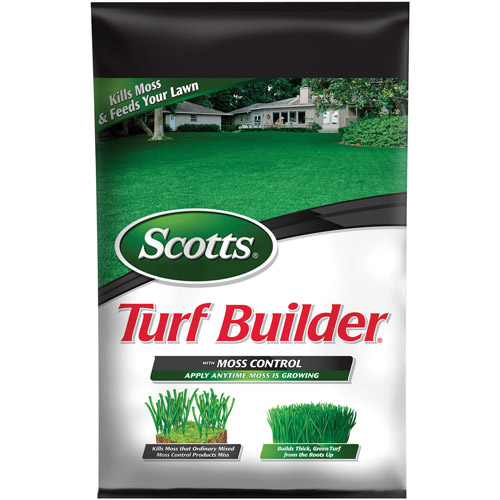 Scotts Turf Builder with Moss Control, 10,000 sq ft