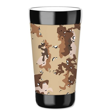 Mugzie 16-Ounce Tumbler Drink Cup with Removable Insulated Wetsuit Cover - Marine Camouflage](Camo Cup)