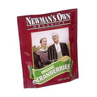 Newman's Own Organics Cranberries and Raisins - Case of 12 - 4 oz.