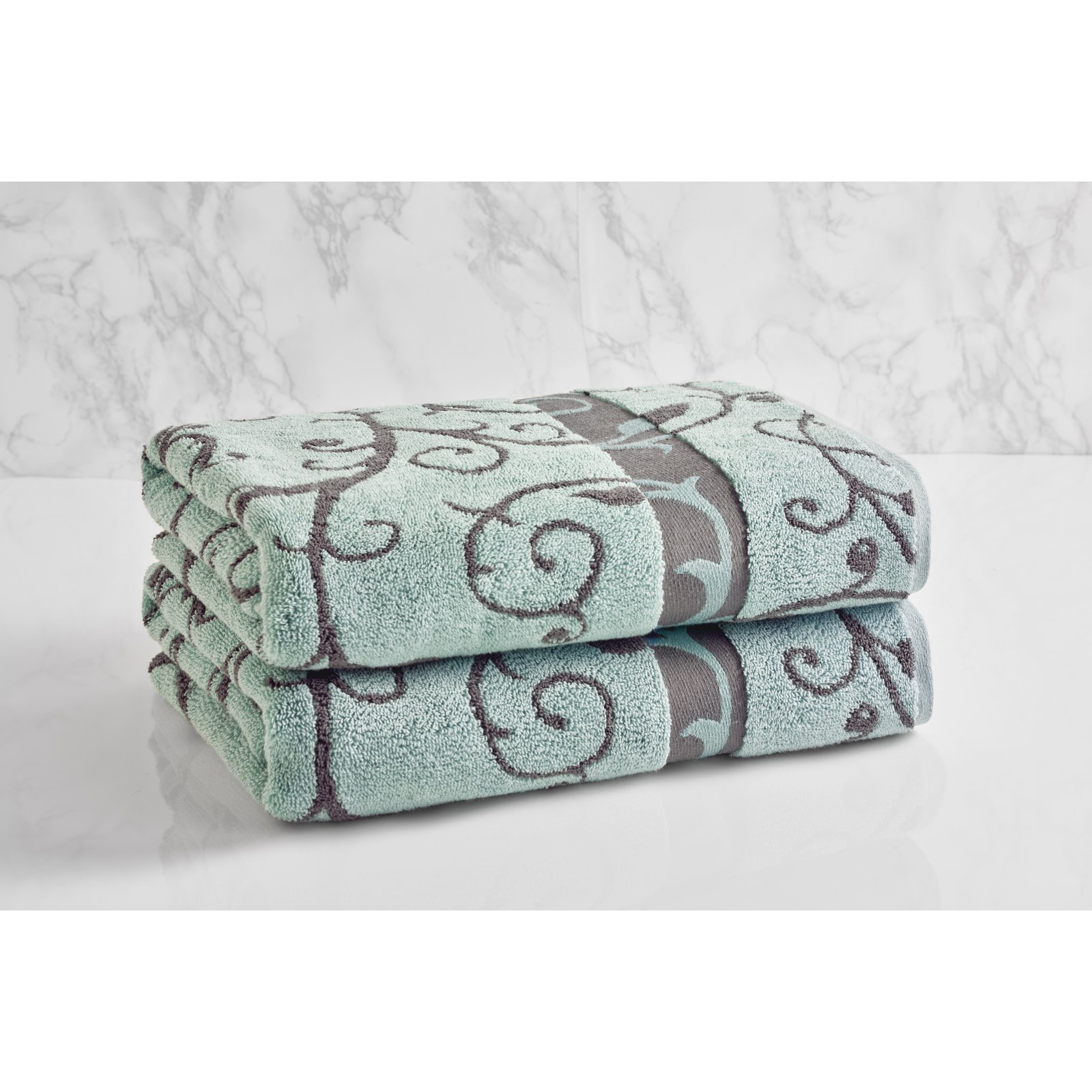 LOFT by Loftex Como Wave Cotton Bath Towel by Loftex Home LLC
