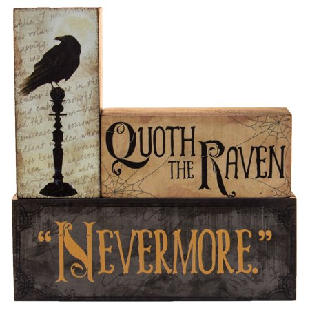 Raven Decorations For Halloween (Halloween Decoration - Quoth The Raven