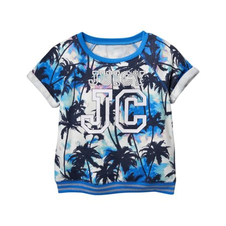 Juicy Couture Girls Palm Tree Sweatshirt Juicy Couture Crown Charm