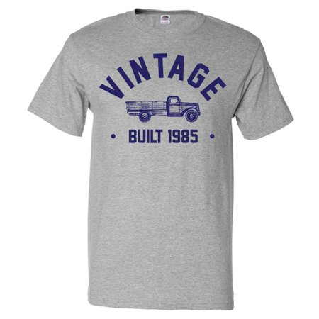 34th Birthday Gift T Shirt 34 Years Old Present 1985 Truck Tee