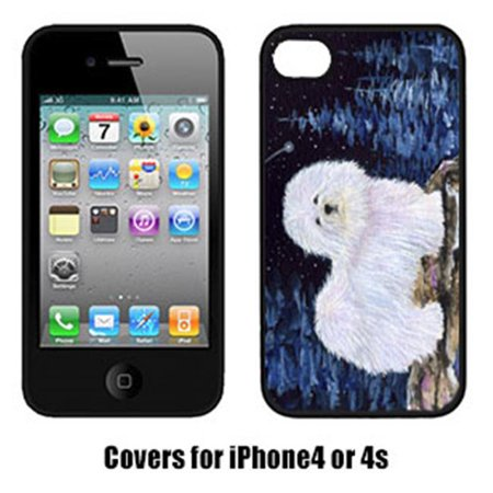 Starry Night Coton De Tulear Cell Phone Cover Iphone4