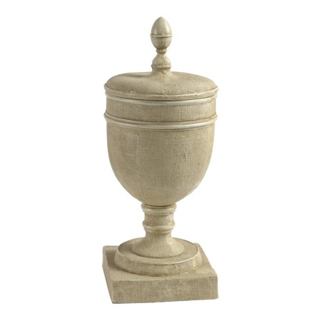 """Chester Pedestal Vase with Lid 9""""x21.5"""""""