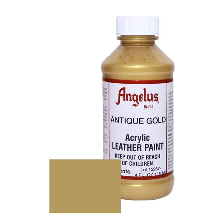 Angelus Acrylic Leather Dye/Vinyl Paint, 4 oz - White Clown Paint