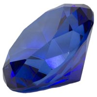 6372ddce49b56 Product Image 3.25 Inch Large Multifaceted Solitare Cut Jewel Paperweight