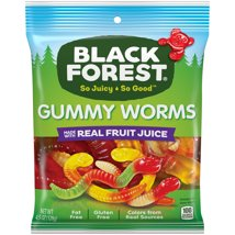 Gummy Candies: Black Forest Sour Glo-Worms