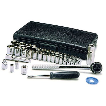 Wilmar W1173 40-piece 1/4u0022 And 3/8u0022 Drive Socket Set