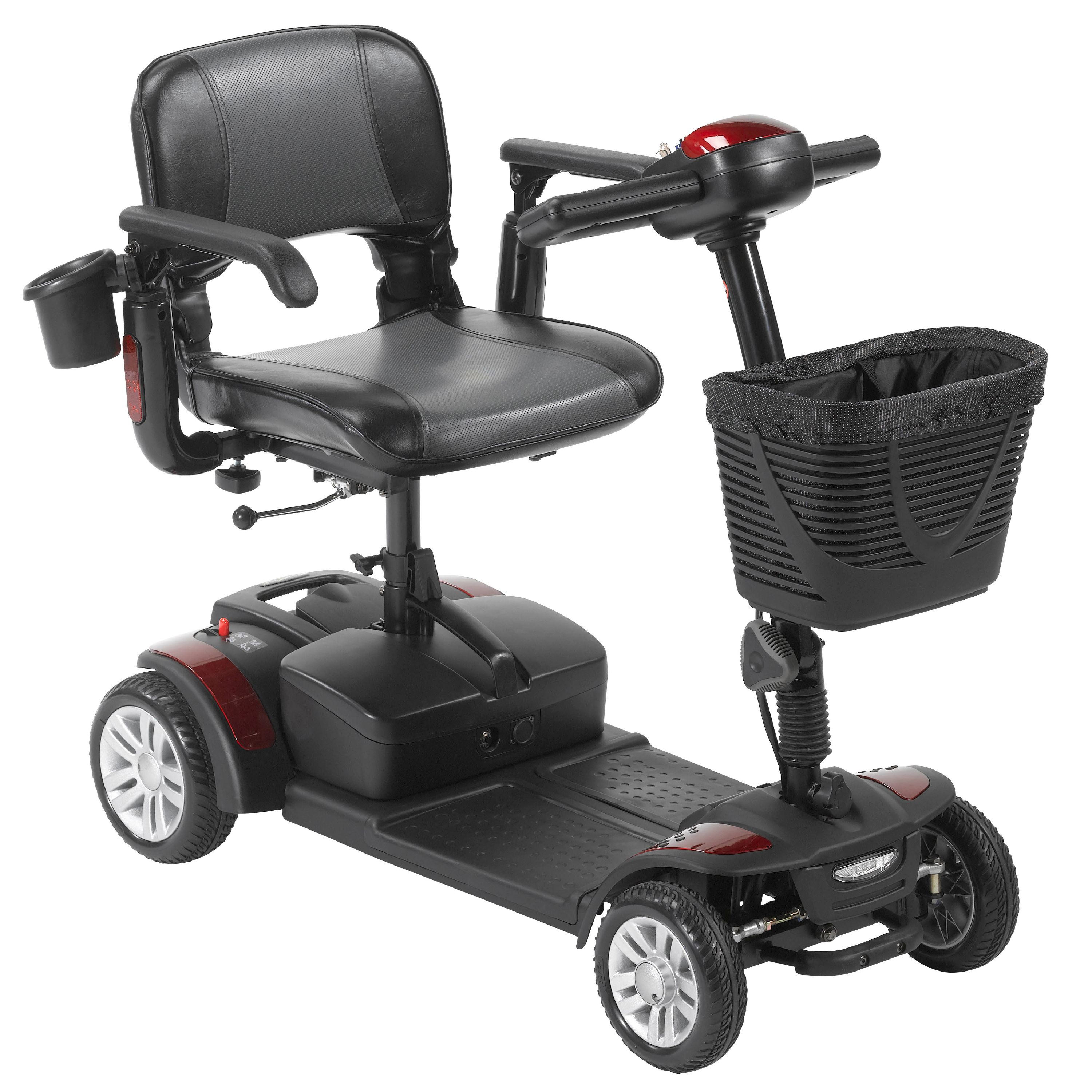 Drive Medical Spitfire EX2 4-Wheel Travel Scooter by Drive Medical