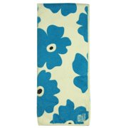 MUkitchen Microfiber Dishtowel 16 by 24-Inches Blue Poppy