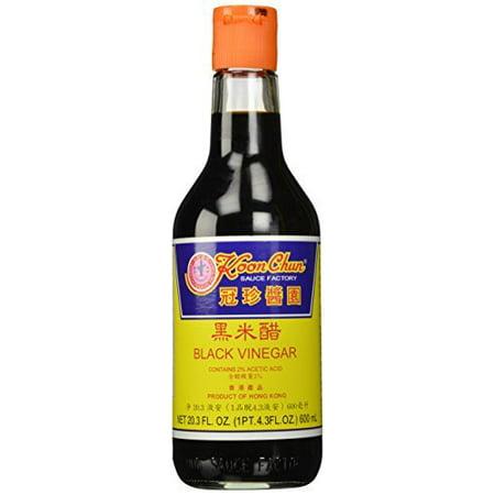 Koon Chun Black Vinegar 20.5 Ounce